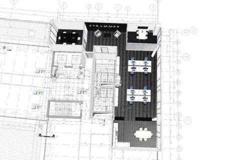 Locaux tertiaire 450 m2